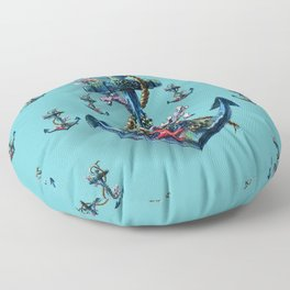 sea life Floor Pillow