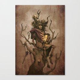 Shaman #1: Firefly Canvas Print