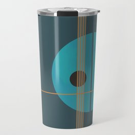 Geometric Abstract Art #4 Travel Mug