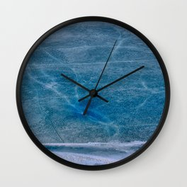 Ice Veins Wall Clock