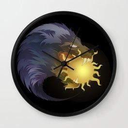 Ragnarok Awaits Wall Clock