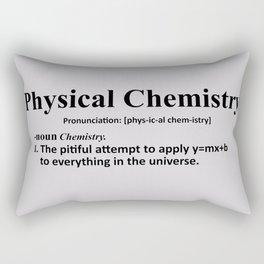 Physical chemistry Rectangular Pillow