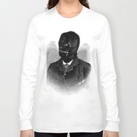 bdsm Long Sleeve T-shirts featuring BDSM I by DIVIDUS