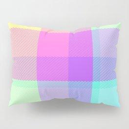 Summer Plaid 27 Pillow Sham