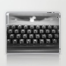 in black and white Laptop & iPad Skin