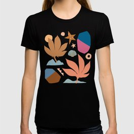 Abstraction_Nature_Island_Minimalism T-shirt