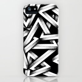 Impossible Penrose Triangles iPhone Case