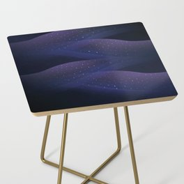 Ultraviolet Cosmos Side Table
