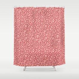 Leopard Print 2.0 - Terracotta Shower Curtain