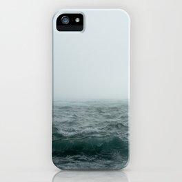 Choppy Seas iPhone Case