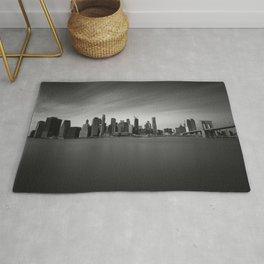 Manhattan Skyline Monochrome Rug