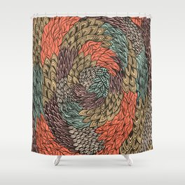 Ink Pattern no.2 Shower Curtain