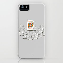 Wrong King iPhone Case