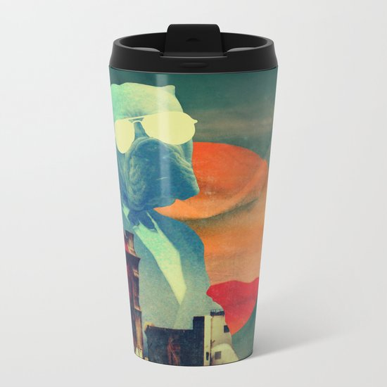 ABRACADABRA Metal Travel Mug