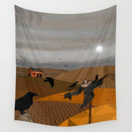 Autumn Fields Wall Tapestry