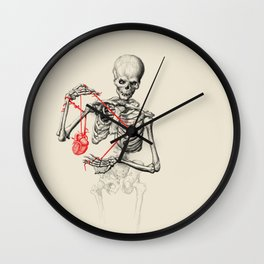 I need a heart to feel complete Wall Clock