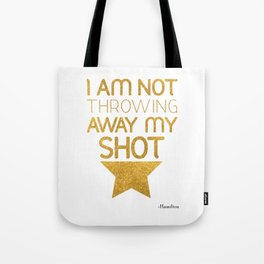 Hamilton Broadway Musical Tote Bag