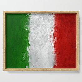 italy painting Serving Tray