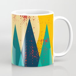 Moose in the mountains Coffee Mug