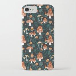 Mushroom Forest Gnomes iPhone Case