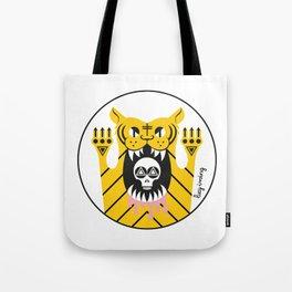 Drawing Tiger Tote Bag