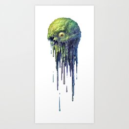 Slime Ball Art Print