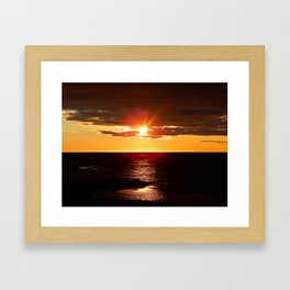 After The Storm and Before the Night Framed Art Print