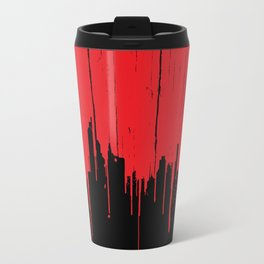 Paint it Red Travel Mug