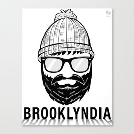 Brooklyndia 2 Canvas Print