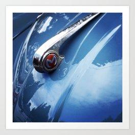 VINTAGE CARS III Art Print