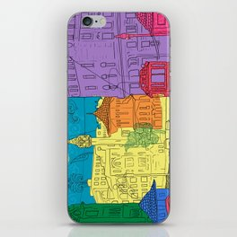 old city iPhone Skin