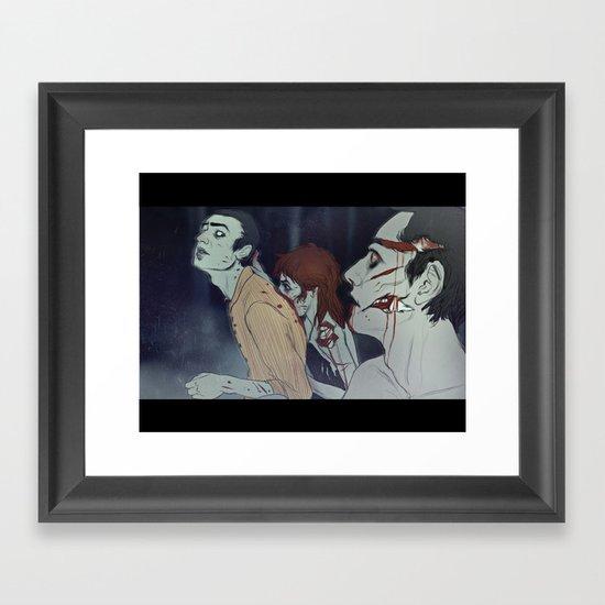 friendsgonebad Framed Art Print