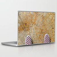 vans Laptop & iPad Skins featuring Vans by Neil John Smith