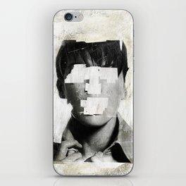 Faceless | number 02 iPhone Skin
