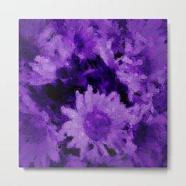 Trendy purple collection 1 Metal Print