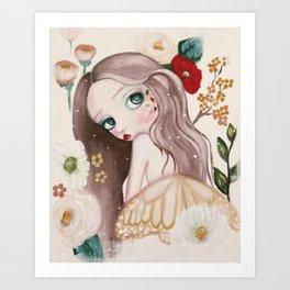 Autumn Pixie Art Print