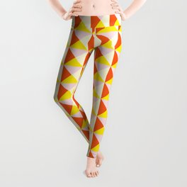 Abstract Triangle Pattern - Colorway #4 Leggings