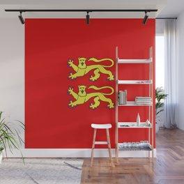 flag of normandie Wall Mural