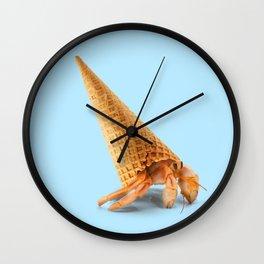 Hermit Cone Crab Wall Clock