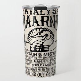 Fatalysk Baarnd Concert Poster Travel Mug