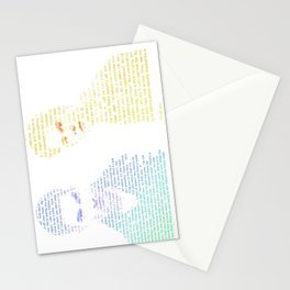 Sterek Quotes Stationery Cards