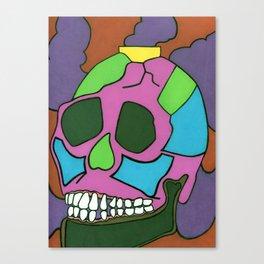 Colorful Skull. Canvas Print