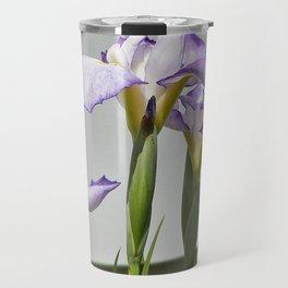 Iris in Spring Travel Mug