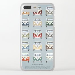 T1 BUS Clear iPhone Case