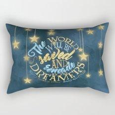 Empire of Storms - Dreamers Rectangular Pillow