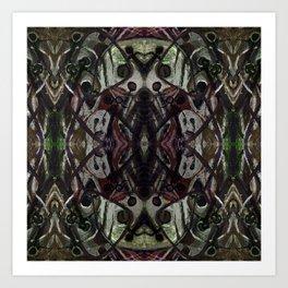 Ghost Upholstery Art Print