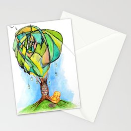 A Bookworm's Dream Stationery Cards