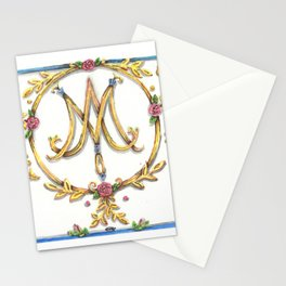 Marie Antoinette Sigil Stationery Cards