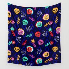 Fiesta Skulls #society6 #skulls Wall Tapestry