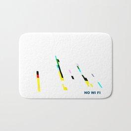 NO WI-FI Bath Mat
